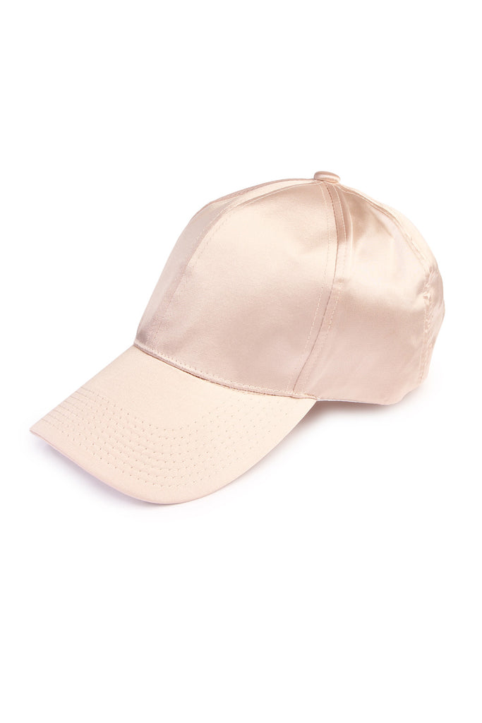 Solid Satin Baseball Cap