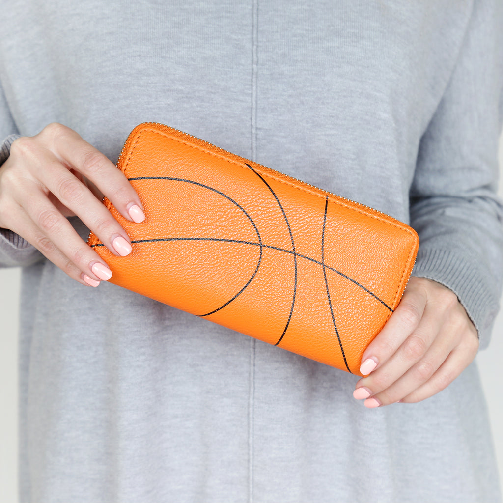 MB0079 - BASKETBALL ZIPPER WALLET