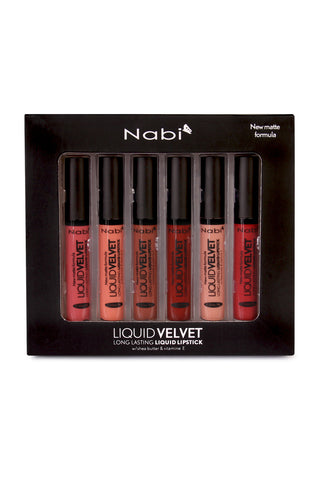 12-Piece Liquid Velvet Long Lasting Lipstick Set