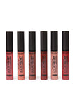 6-Piece Liquid Velvet Long Lasting Lipstick Set - Riah Fashion
