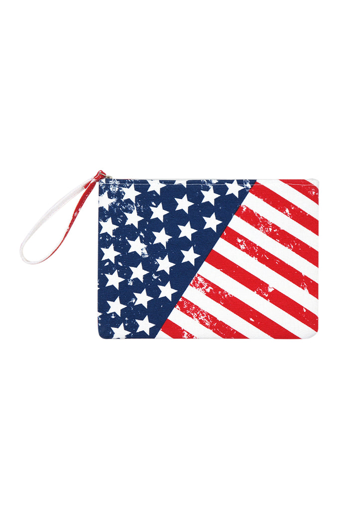 MP0099 - AMERICAN FLAG COSMETIC POUCH