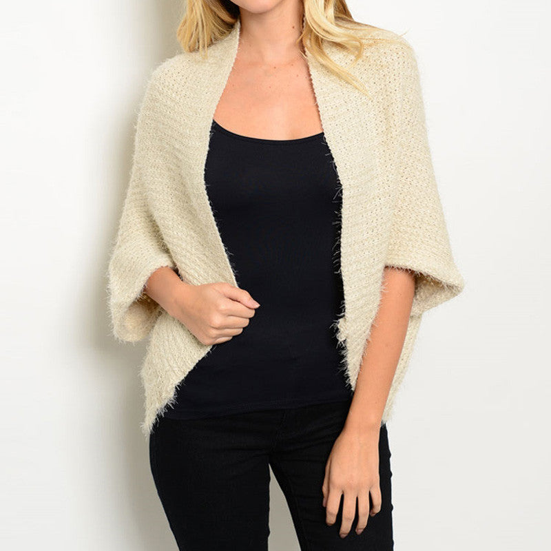 Soft Open-Front Cardigan - 4 Colors