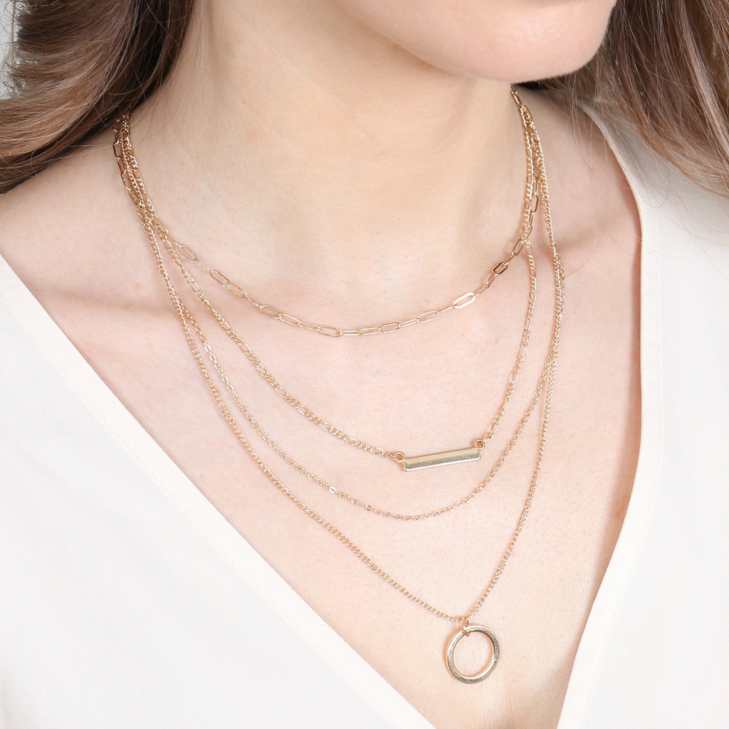 MYN1101 - LAYERED NECKLACE