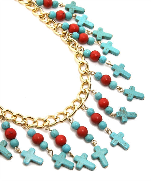 Cross Chain Necklace