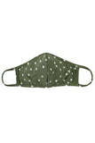 RFM7001K-RPD002- POLKA DOTS PRINTED REUSABLE FACE MASK FOR KIDS