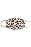 RFM7002K-RAP020-BROWN- LEOPARD REUSABLE FACE MASK FOR KIDS