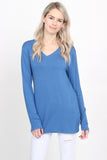Premium Long Sleeved V-Neck Top