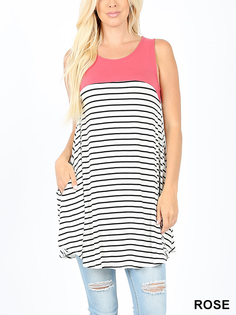 Premium Sleeveless Round Neck