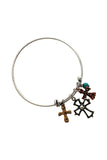 Three Cross Wired Bracelet