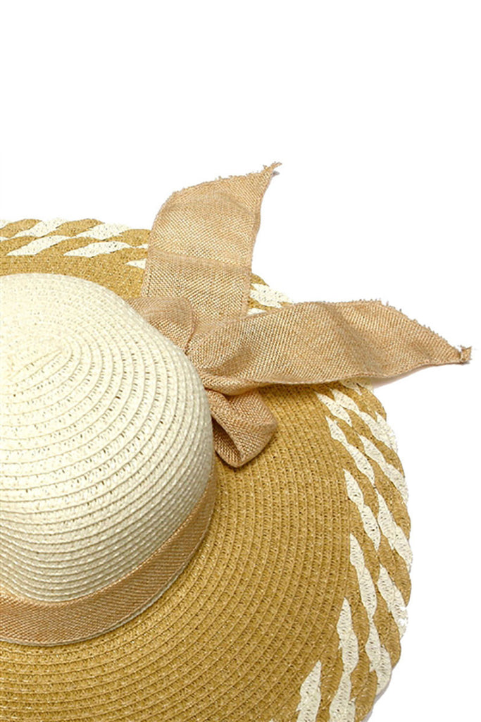 Ribbon Straw Hat