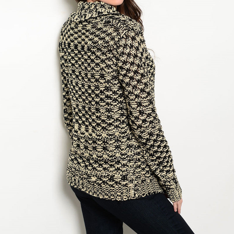 Chunky Knit Sweater Cardigan - 3 Colors