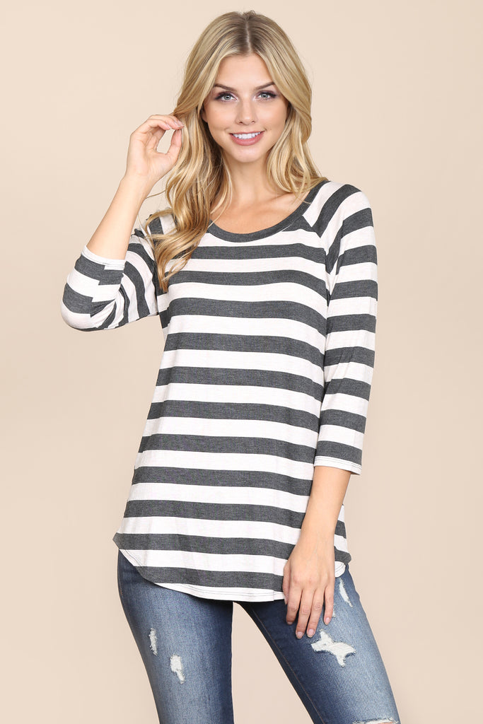 Everyday One Inch Striped Tunic