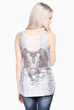 Elephant Aztec Tank Top