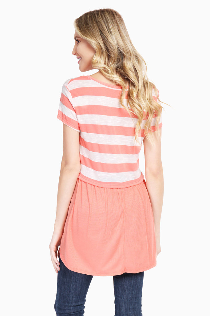 Spring Striped Top