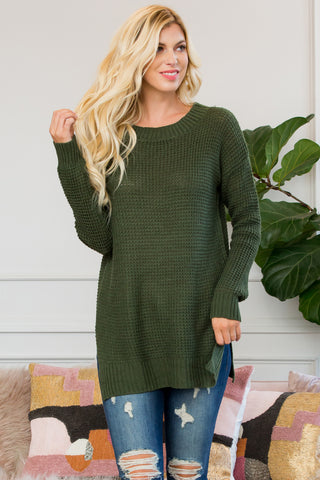 Oversized Round Neck Sweatshirts