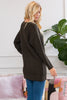 Long Sleeve Round Neck Heavy Sweater