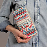 Dream Catcher Print Zipper Wallet