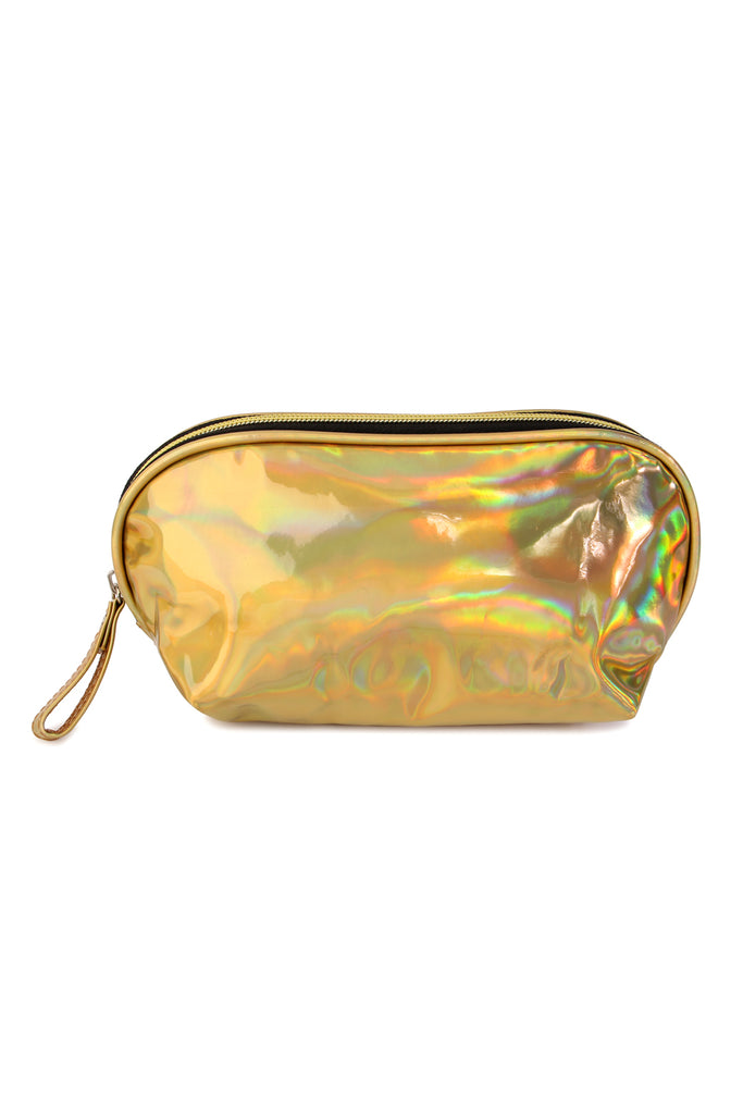 Iridescent Cosmetic Pouch