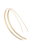Curved Bar Fancy Ear Wire