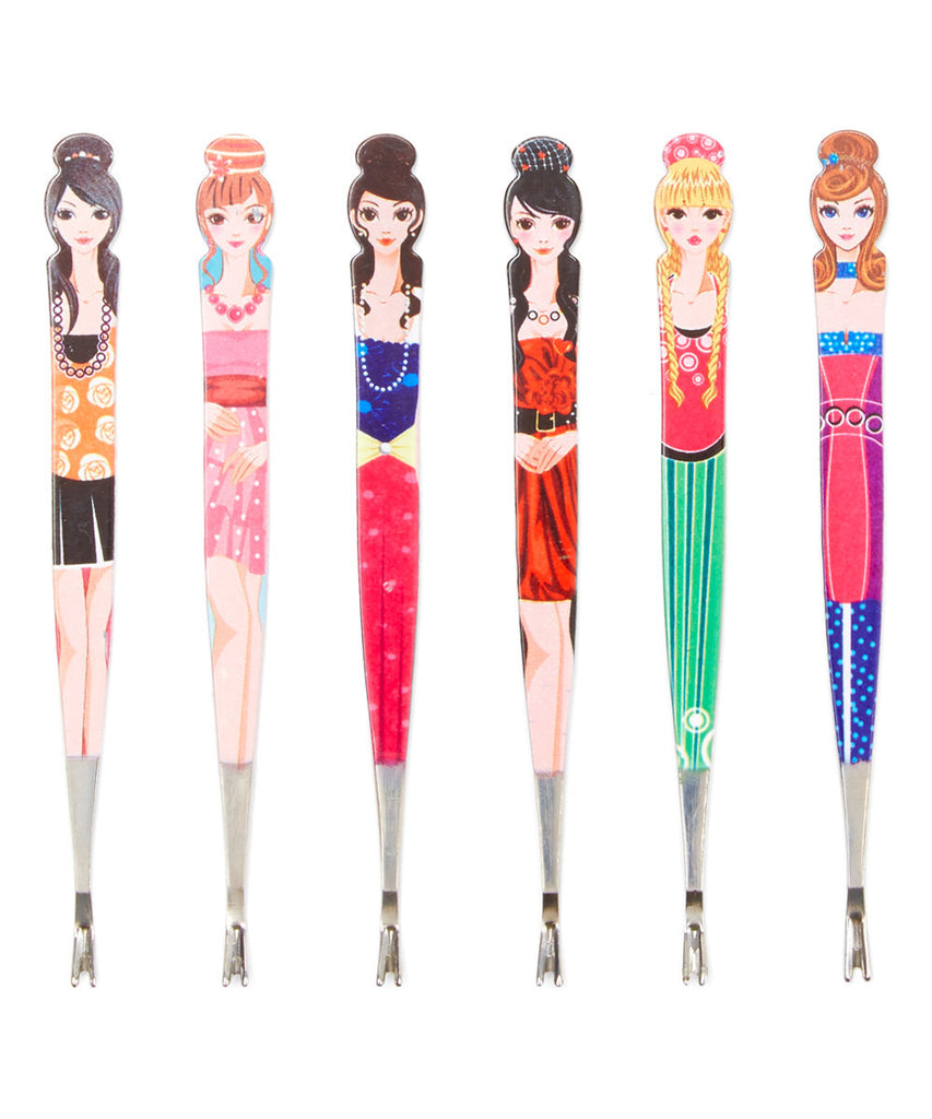 Six-Piece Metal Doll Trimmer Set