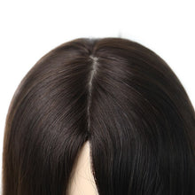 Load image into Gallery viewer, Jewish Wigs Straight Human Hair Wigs Silk Base Double Drawn European Remy Hair