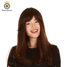 Load image into Gallery viewer, Kosher Silk Top Jewish Wigs Double Drawn Kosher Wigs Bob European Human Hair Wigs For Women 130 Density Honey Queen Remy