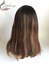 Load image into Gallery viewer, Popular 100% Jewish Hair Lace Top Wigs Good Quality European Hair Jewish Kosher Wig Sheitels