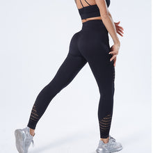 Load image into Gallery viewer, SALSPOR Women Yoga Pants Sports Running Sportswear Stretchy Fitness Leggings Gym Seamless Tummy Control Compression Tights Pants