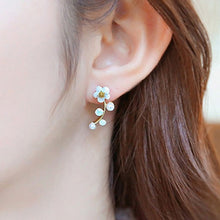 Load image into Gallery viewer, Stud Earrings for Women Fashion Jewelry Gold Silver Rhinestones Earrings Gift