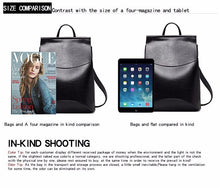 Load image into Gallery viewer, School Leather Backpack Zocilor