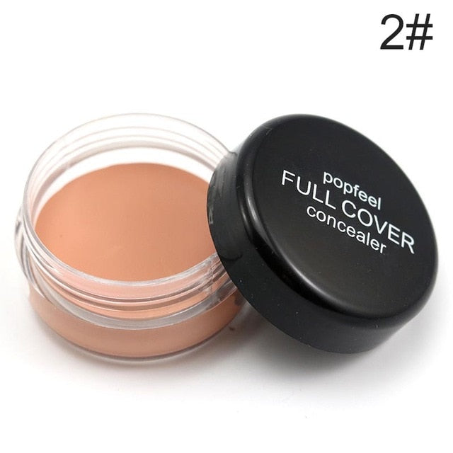 Professional Full Coverage Flawless Makeup Texture Concealer Foundation 5 colors