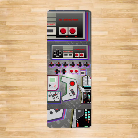 I control the game Yoga Mat by Los-Twins DeLa Parra
