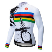 Riding Bicycle Jersey Long Sleeve Cycling Jersey
