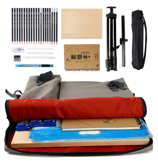 Large Art bag for drawing board painting set