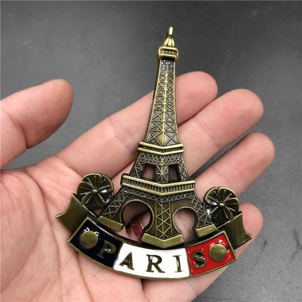 fridge magnets France Germany Brazil Italy metal magnetic refrigerator stick bottle opener creative 3d collection gifts Shanghai
