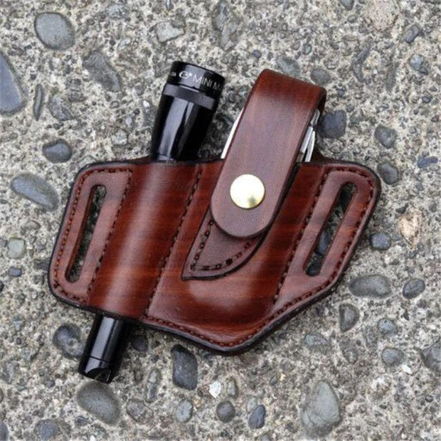 leather multi function belt tool