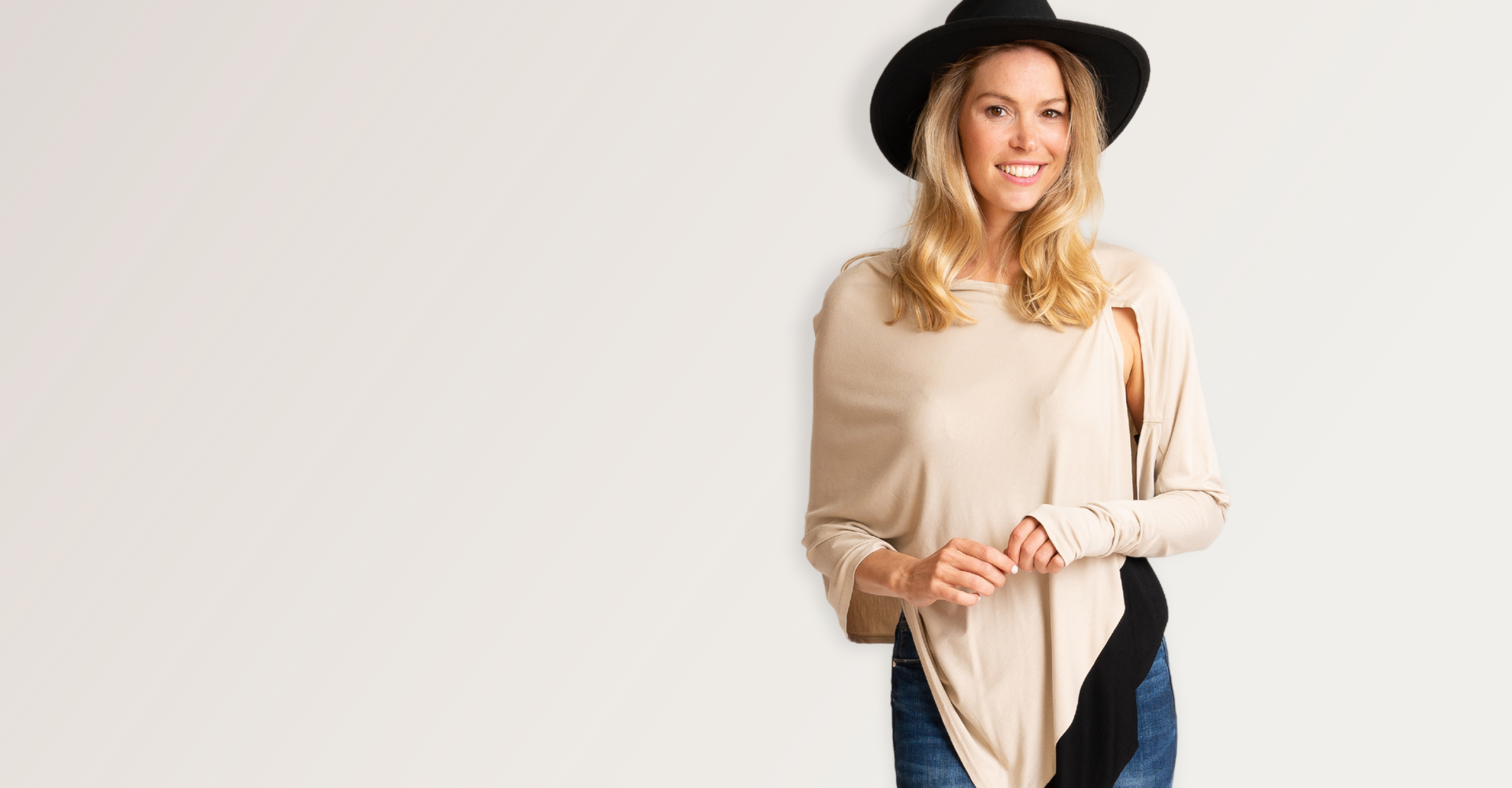 Judy one size fits all top one sleeve