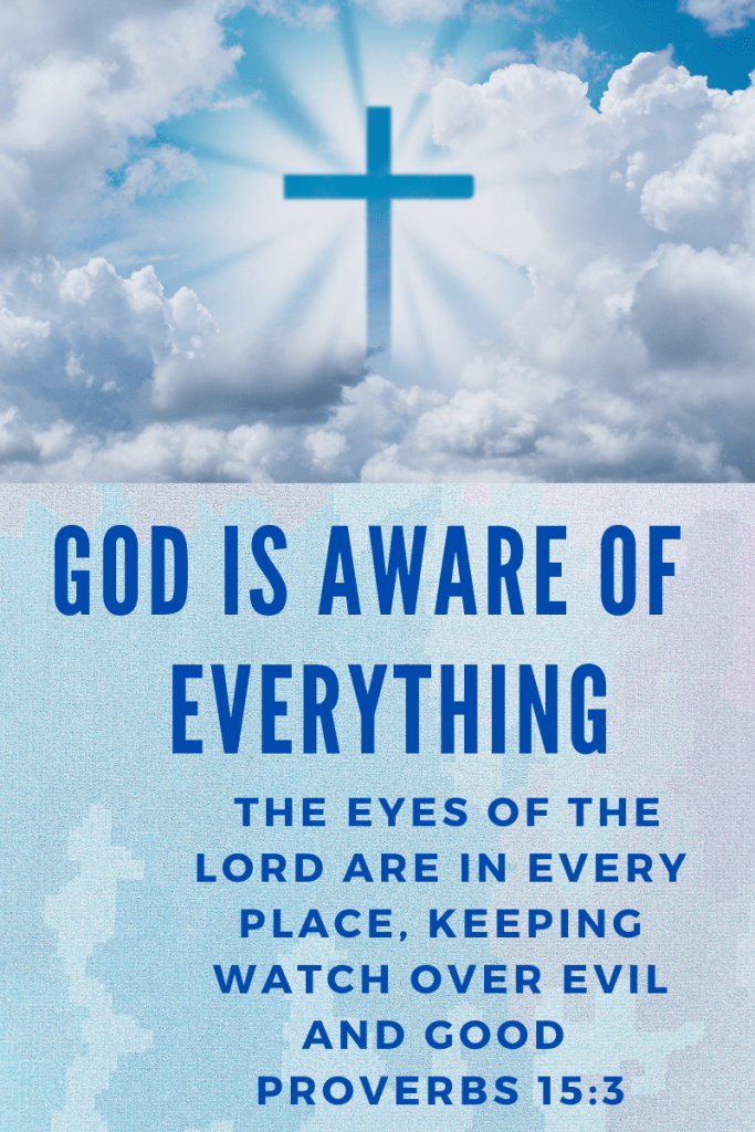 God is Aware of Everything