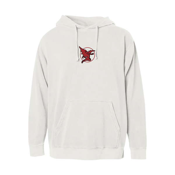 BLACK SABBATH RED STRIPE GRAPHIC HOODIE