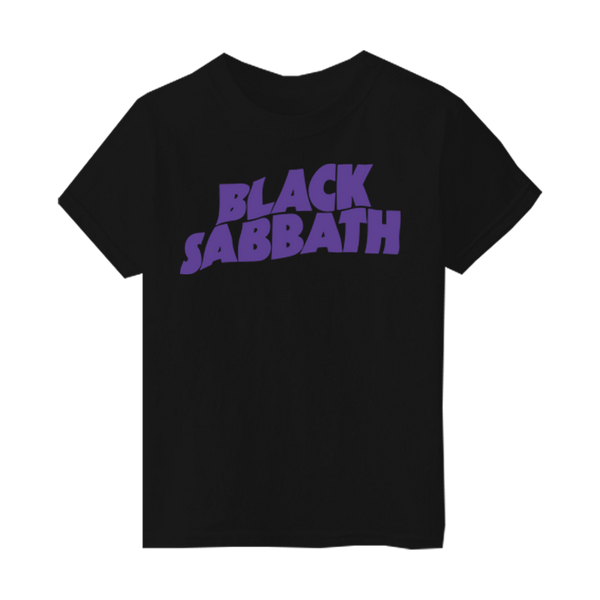BLACK SABBATH PURPLE LOGO KIDS T-SHIRT