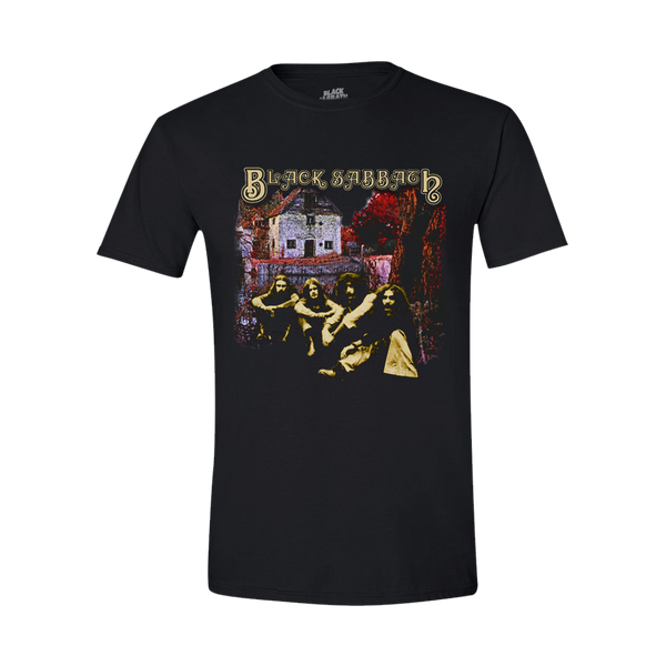 SELF-TITLED DEBUT ALBUM BLACK T-SHIRT