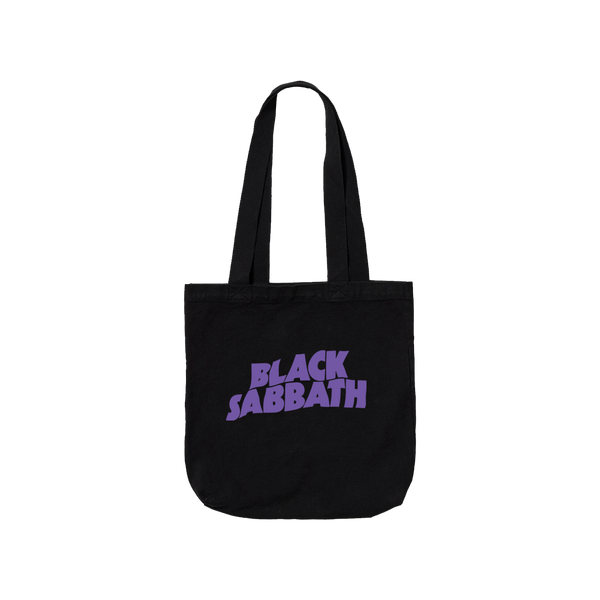 PURPLE LOGO TOTE BAG