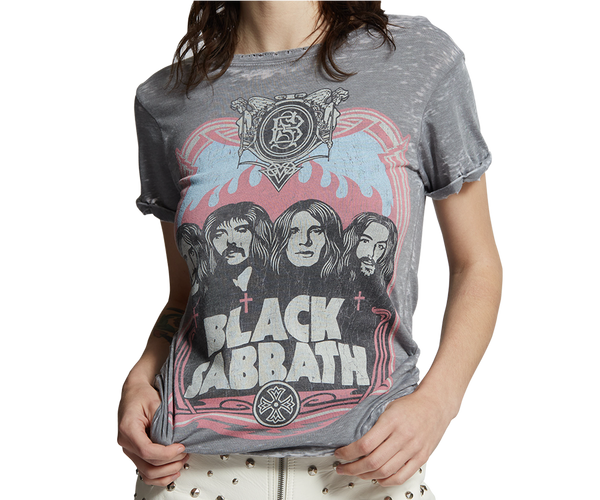 RECYCLED KARMA X BLACK SABBATH T-SHIRT