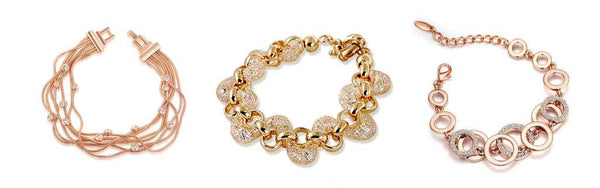 Popular in All Times Rose Gold Chain Bracelets
