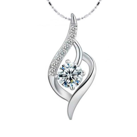 Sterling silver necklace for women
