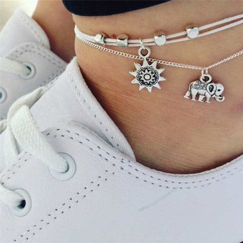 anklets with running shoes