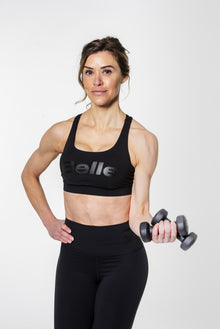 lululemon x BELLE Energy Bra | Black