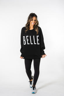 Brunette The Label x BELLE Big Sister Crew Neck Sweatshirt