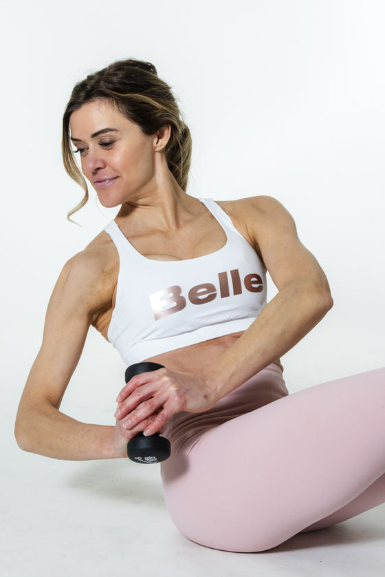 lululemon x BELLE Energy Bra | White
