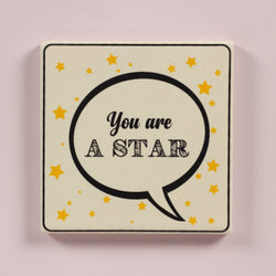 You are a star coaster